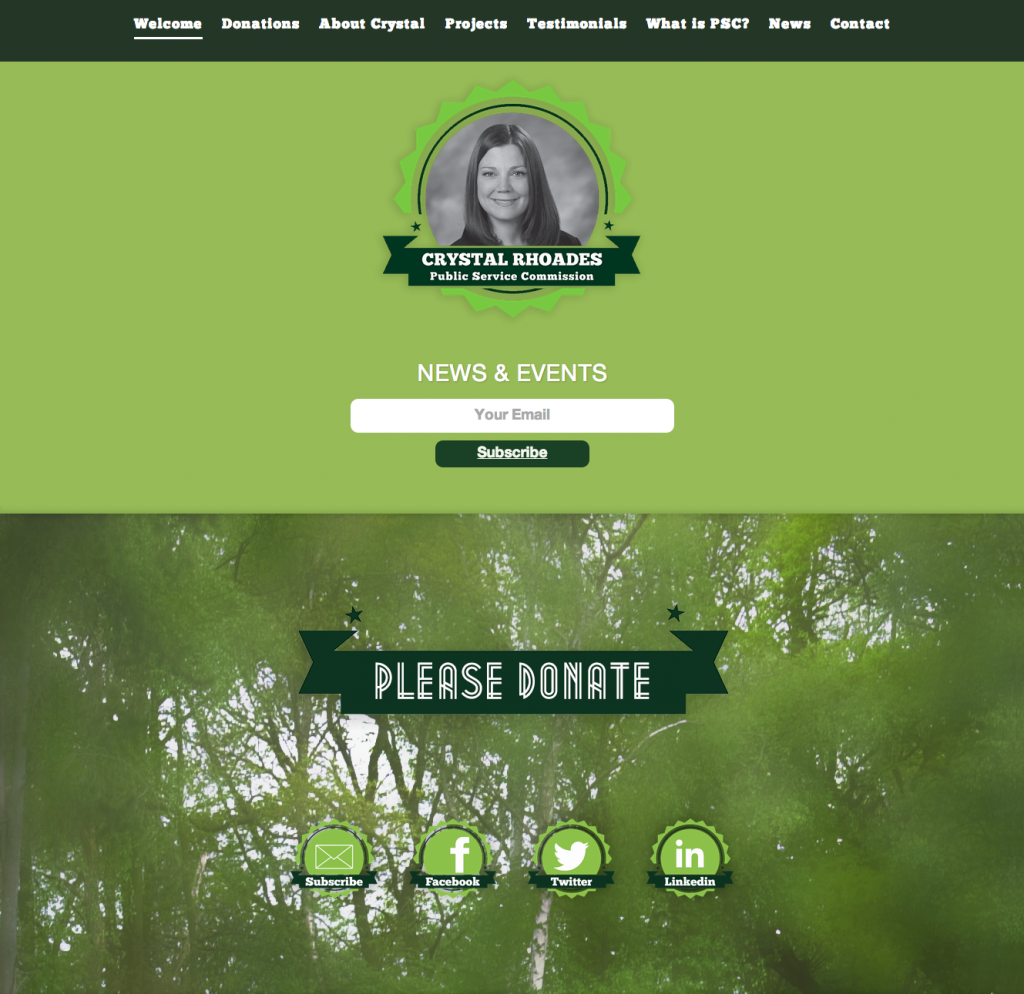 Crystal Rhoades – Public Service Commission